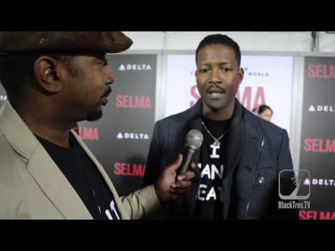 COREY REYNOLDS talks on SELMA RED CARPET
