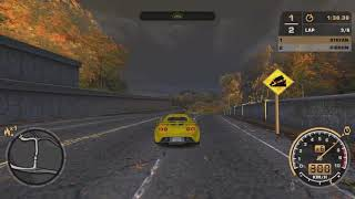 NFS Most Wanted - Ironwood Estates in under 3:50 (Full Race with ESL rules)