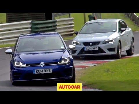 Volkswagen Golf R versus Seat Leon Cupra 280 - which is fastest?