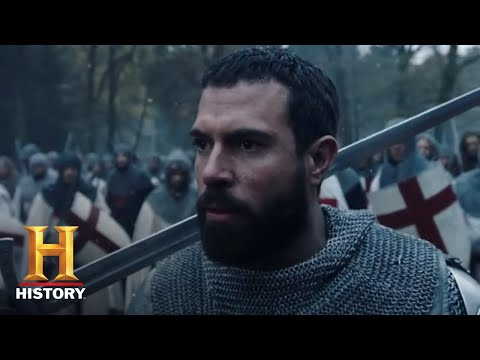 knightfall:-season-1-finale-exclusive-sneak-peek-(season-1,-episode-10)-|-history