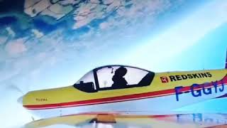 Philippe Chatelet testing aerobatic flight Cap10