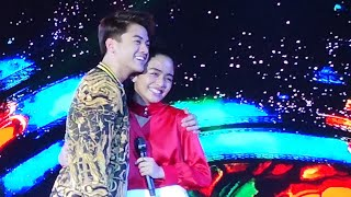 KierVi Diaries Rewrite the Stars Duet at Araneta