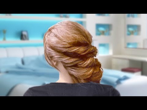 Loose Braided Updo Hairstyles: Wedding & Prom