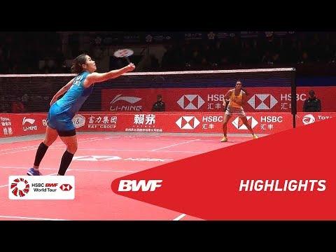 HSBC BWF World Tour Finals 2018   WS - SF - HIGHLIGHTS   BWF 2018