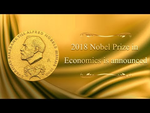 Live: 2018 Nobel Prize in Economics is announced 2018年诺贝尔经济学奖得主揭晓