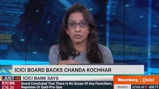 ICICI Bank On Chanda Kochhar