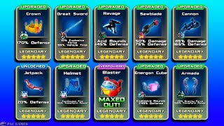 Angry birds Transformers - New Legendary Accessories & Powers Unlocked