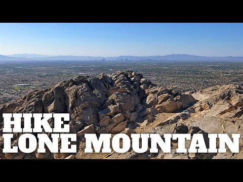 Hike Lone Mountain Trail