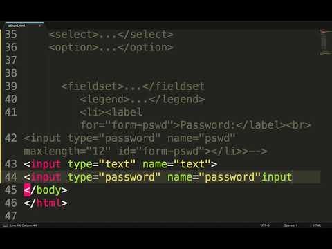 Caption Dan Input Text,tel.,password,url,email Di Html. 13