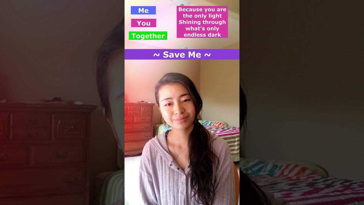 SAVE ME - BTS [English Duet] | Amy #shorts