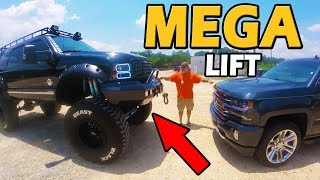 HUGE LIFT!!! Ford Excursion 7.3L PowerStroke Diesel | Truck Central