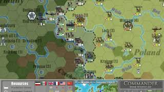 Commander Europe At War GS Mod 4 Allies Full Playthrough - Part 1