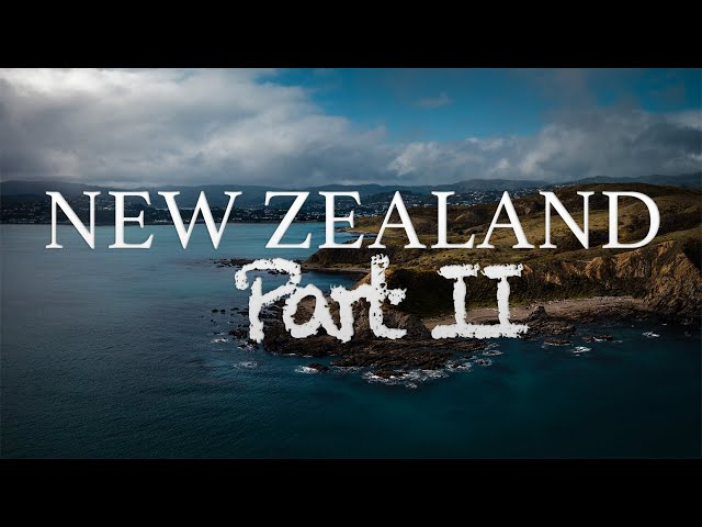 New Zealand - PART II - back in 2018