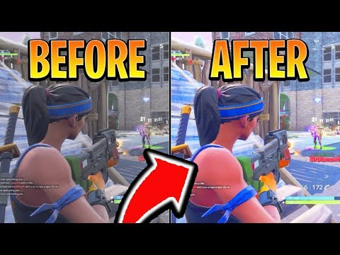 BEST Fortnite Console Settings for GRAPHICS! BEST Ps4/Xbox One Fortnite  Settings (Fortnite Season 7)