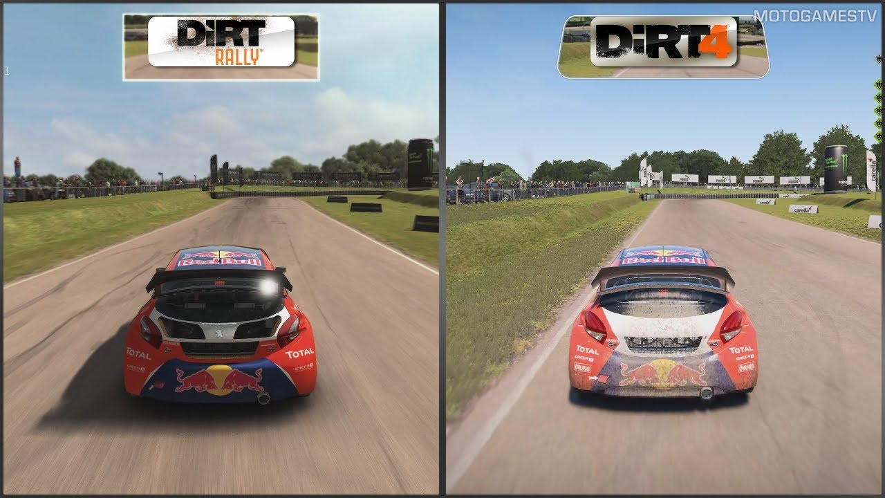dirt rally vs dirt 4 peugeot 208 wrx at lydden hill. Black Bedroom Furniture Sets. Home Design Ideas