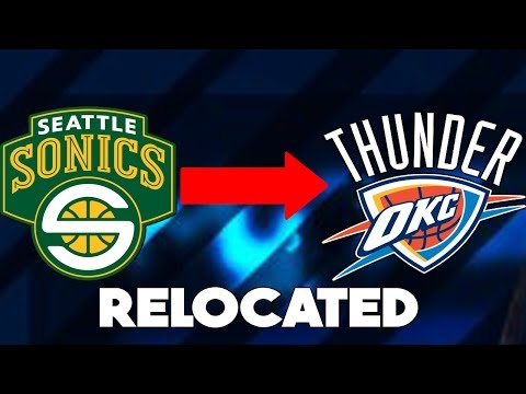 HAVE THESE NBA TEAMS RELOCATED?