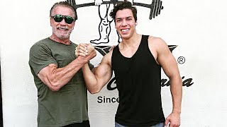 Arnold Schwarzenegger's Son Is Training To Compete in Classic Physique