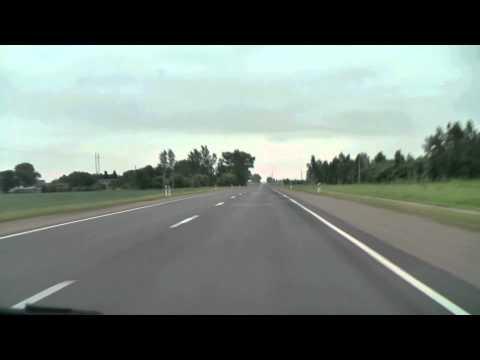 Siauliai - Panevezys - Vilnius (A9, A17, A2)