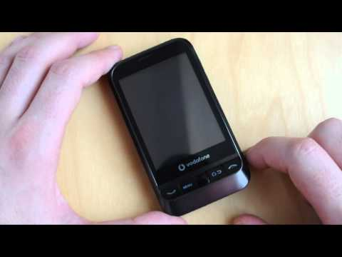 Vodafone 845 com Android 2.1: Hardware
