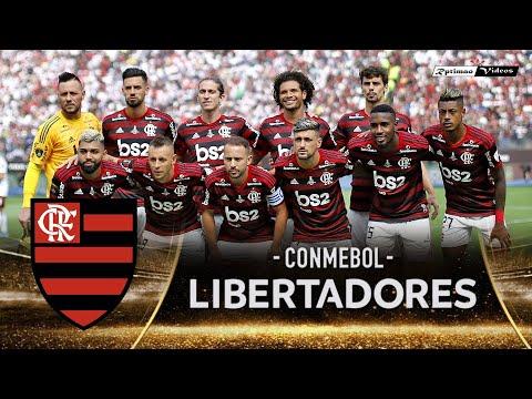 Todos jogos do Flamengo na Copa Libertadores 2019