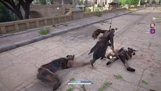 Assassin's Creed Origins Lion Chase and Rest in peace mufasa