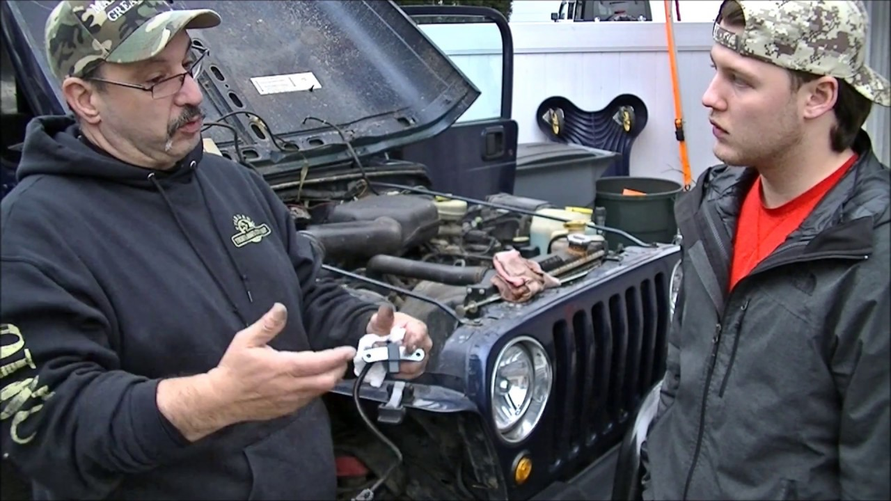 hight resolution of fix repair a p1391 code on a jeep wrangler cherokee or similar youtube