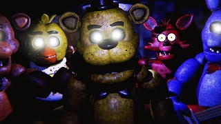 ESCAPING FREDDY FAZBEARS PIZZERIA Five Nights At Freddys 3D FREE ROAM Five Nights At Freddys
