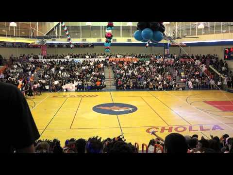 Cholla High Magnet School Pep Assembly