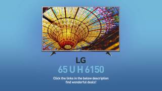 LG 65UH6150 4K UHD HDR Smart LED TV - 65