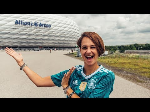 Bayern Munich Allianz Arena Tour! Germany Travel Vlog