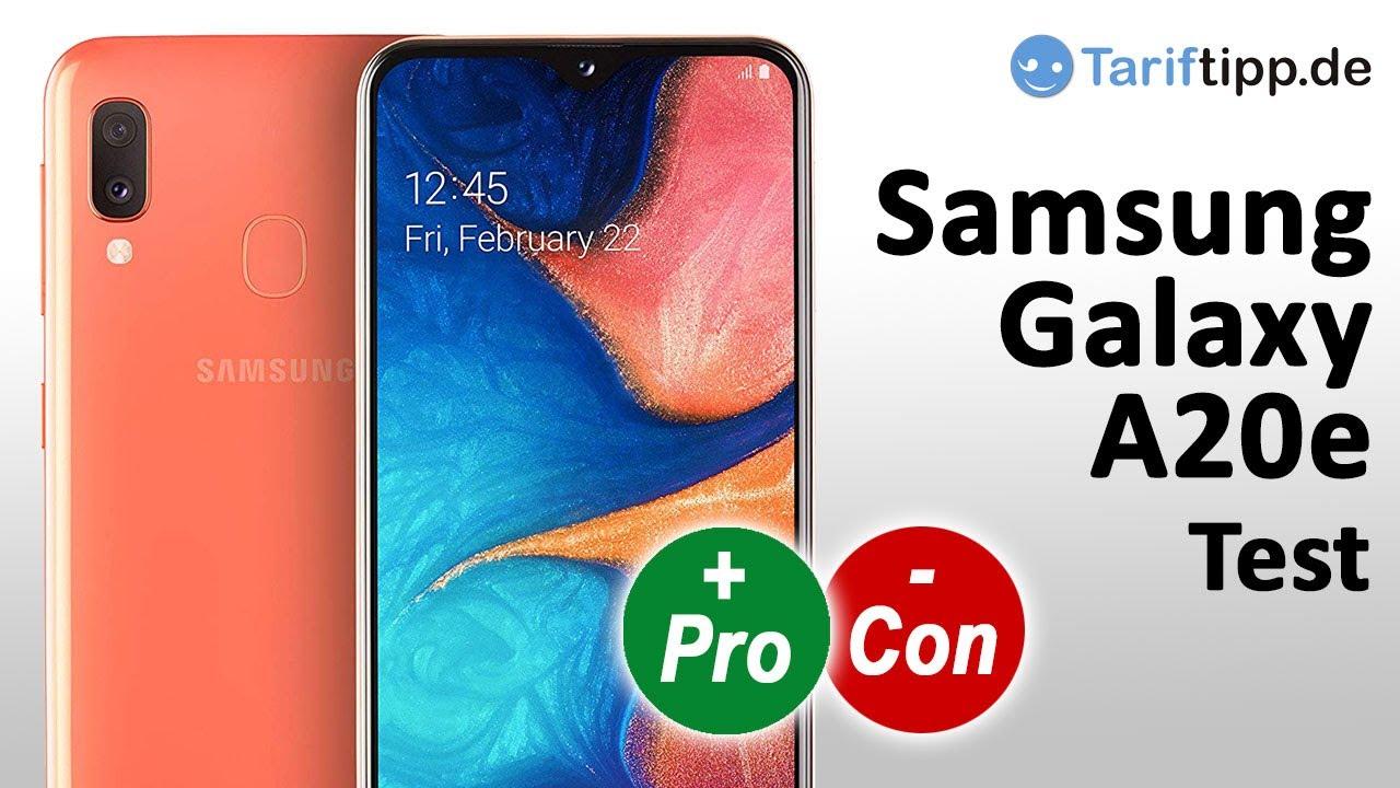 Test Samsung Galaxy A20e   Das neue Samsung Einsteiger Handy im Test