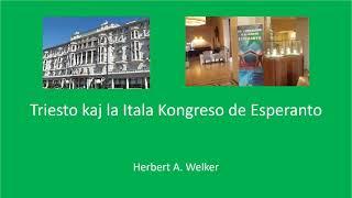 Triesto kaj la Itala Kongreso de Esperanto
