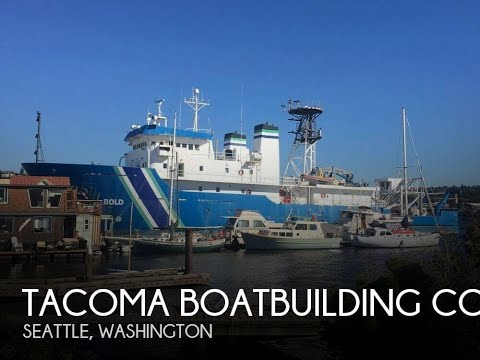Used 1988 Tacoma Boatbuilding Co., Inc. 224' Ocean Survey Vessel, Stalwart Class T-AGOS-12 for sale