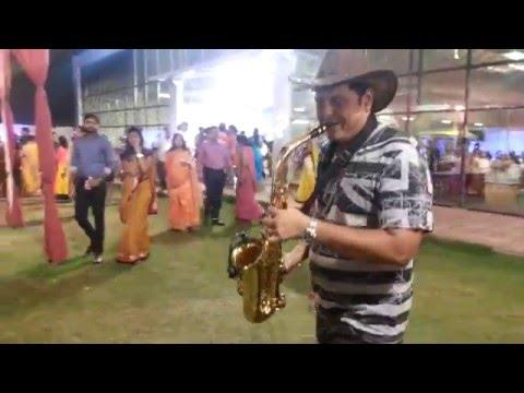 sj prasanna playing Churalia hai tumne jo dil ko on saxophone (09243104505)