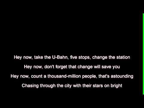 R.E.M.  - UBerlin Lyrics  tekst