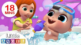 Baby Bath Time | Bath Song | Kids Songs and Nursery Rhymes by Little Angel thumbnail