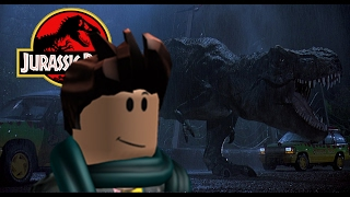 Roblox Funny Moments - Jurassic Park Ride, Before The Dawn, and Spider Attack!