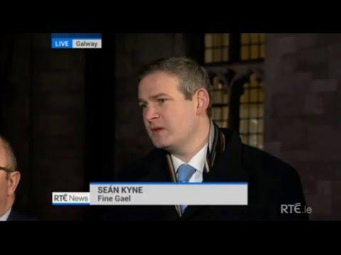 Seán Kyne TD on RTE