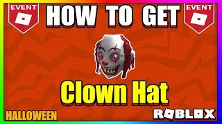 ROBLOX Halloween Event: How To Get Clown Mask | ROBLOX HALLOWEEN EVENT 2018