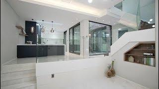 [4k] 수영장이 있는 스킵플로어 단독주택 (ENG SUB)