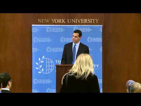 "David Cohen on ""The Law and Policy of Iran Sanctions"""