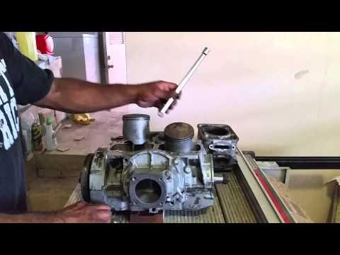 787 RFI engine, test crankshaft, bearing