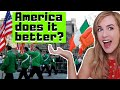 Irish Girl Tries The NYC Patricks Day Parade For the FIRST time