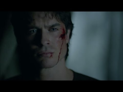 The Vampire Diaries: 8x10 - Damon tells Stefan he loves him, he forgives him [HD]