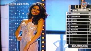 Miss Universe 2011 Top 10 Evening Gown Competition