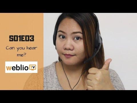 EPISODE 03: CAN YOU HEAR ME??? | Weblio TV