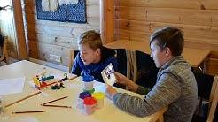 Skinnarilan koululaiset kehittivät ideoita talviseen rantaelämään