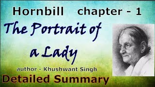 The portrait of a lady class 11 Hindi detailed summary