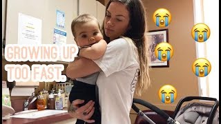 Baby Blake's 9 Month Check Up | Bad Luck Storytime