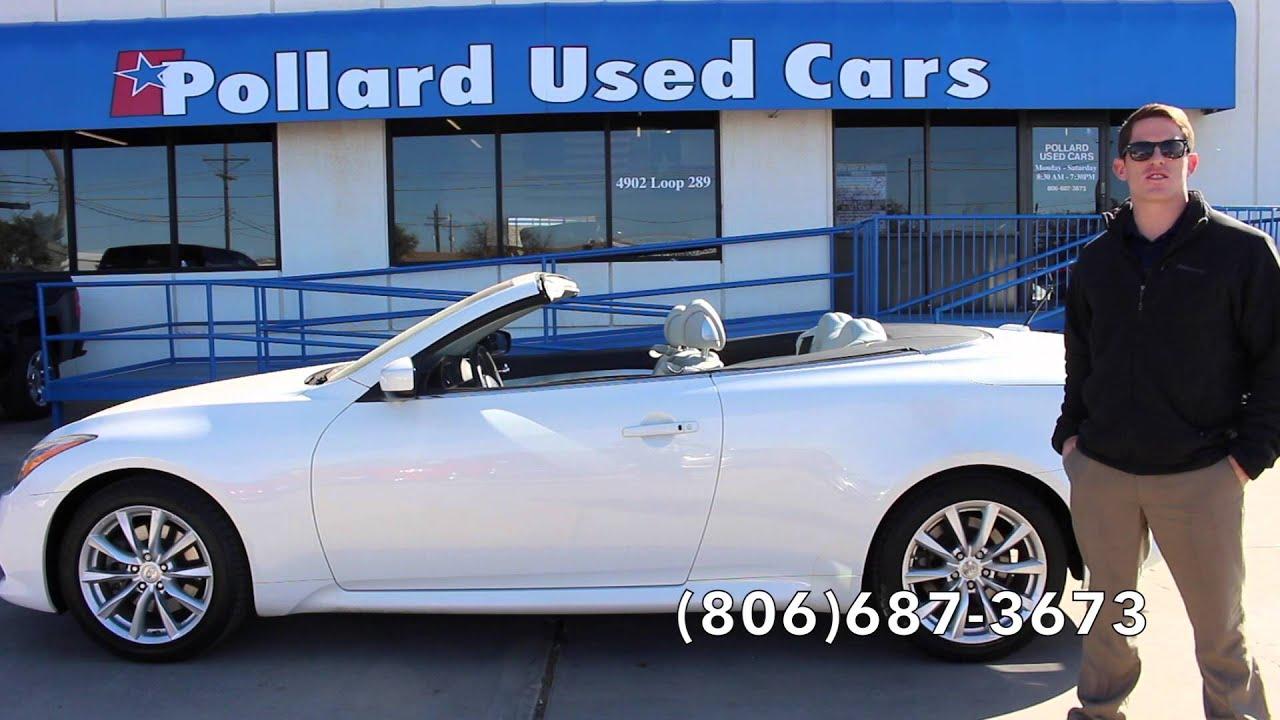 Pollard Used Cars >> Pollard Pre Owned Infiniti G37 Infiniti Youtube